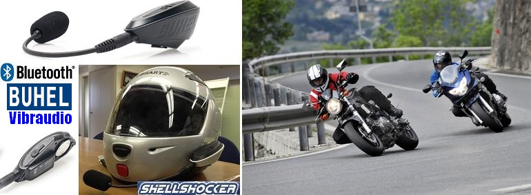 BUHELヘルメット通信イメージ