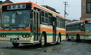湯村温泉へのバス